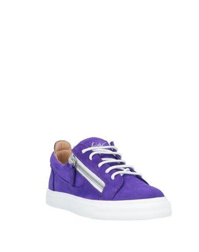 Фото 2 - Низкие кеды и кроссовки фиолетового цвета