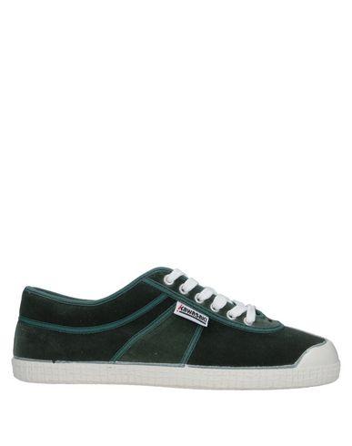 Купить Низкие кеды и кроссовки от KAWASAKI зеленого цвета