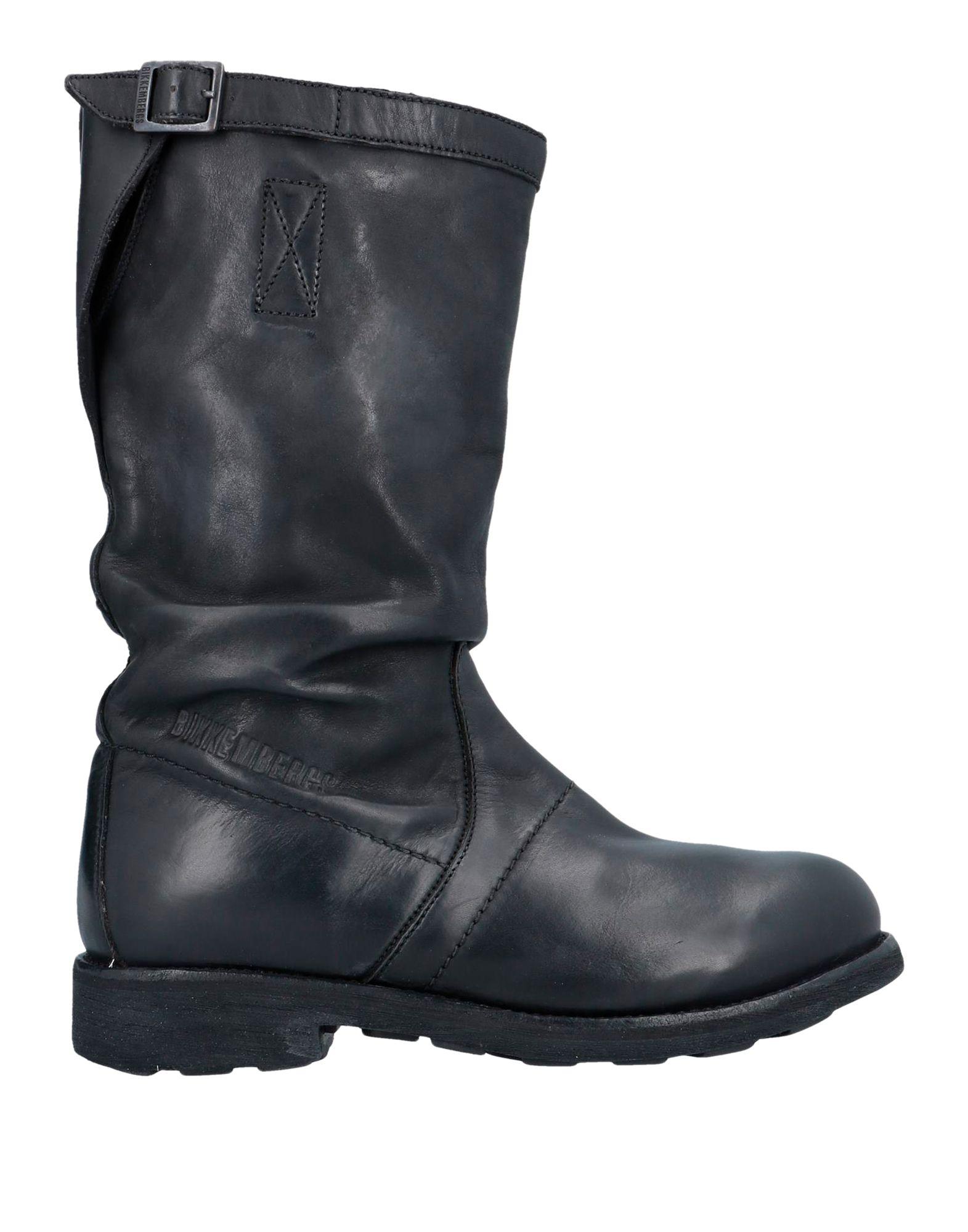 《セール開催中》BIKKEMBERGS レディース ブーツ ブラック 41 革