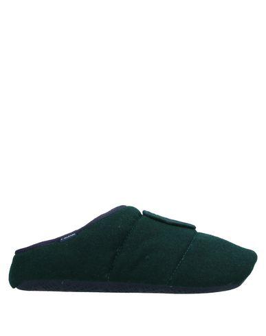 Фото - Домашние туфли темно-зеленого цвета