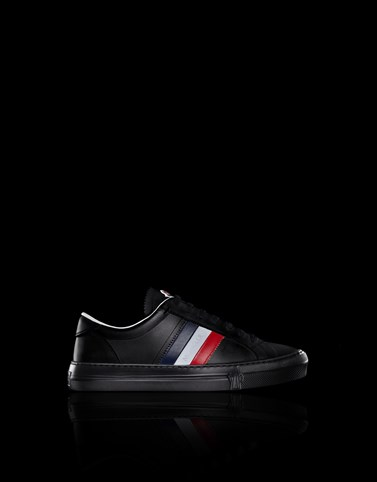 NEW MONACO Black Sneakers