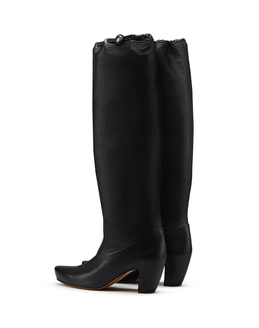 TALL LEATHER BOOTS  - Lanvin