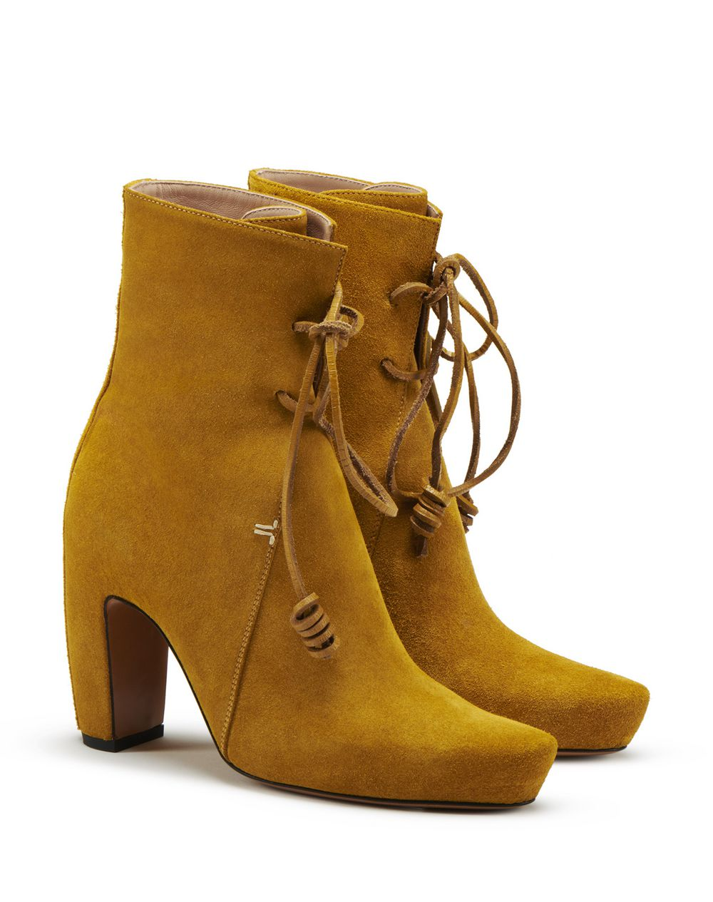 LACE-UP ANKLE BOOTS  - Lanvin