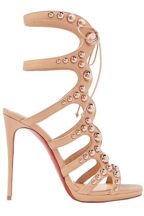 CHRISTIAN LOUBOUTIN Amazoubille 120 studded leather sandals