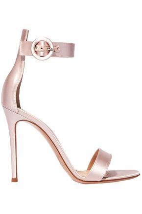 GIANVITO ROSSI Portofino 105 satin sandals
