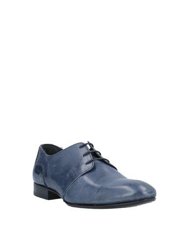 Фото 2 - Обувь на шнурках синего цвета