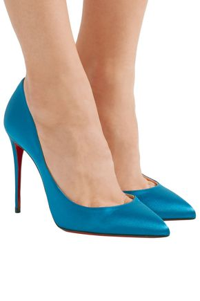 new product 05ad6 556ba Pigalle Follies 100 satin pumps | CHRISTIAN LOUBOUTIN | Sale ...