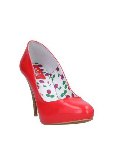 Фото 2 - Женские туфли VIENTY красного цвета