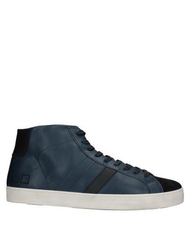 Купить Высокие кеды и кроссовки от D.A.T.E. темно-синего цвета