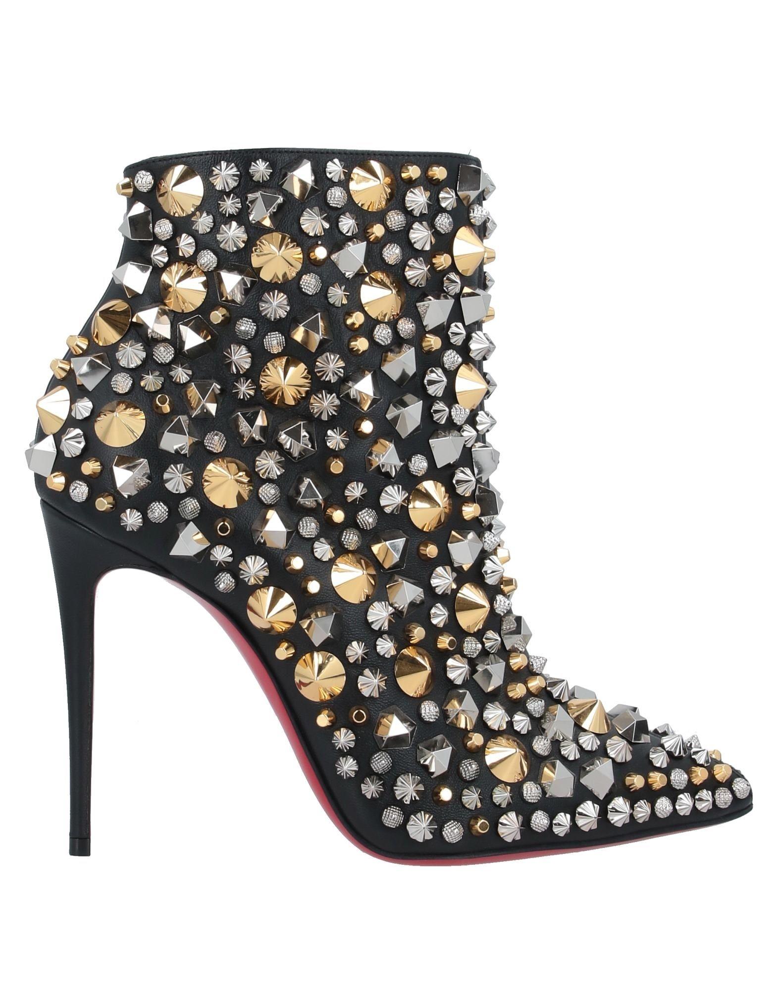 CHRISTIAN LOUBOUTIN Полусапоги и высокие ботинки цены онлайн