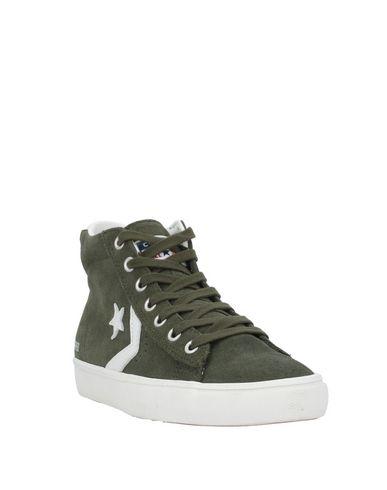 Фото 2 - Высокие кеды и кроссовки от CONVERSE ALL STAR цвет зеленый-милитари