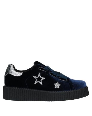 Фото - Низкие кеды и кроссовки от BRIO SHOES темно-синего цвета