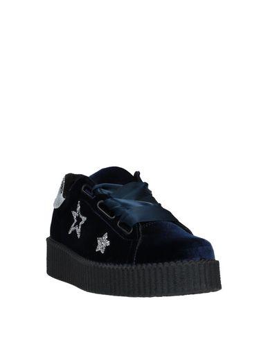 Фото 2 - Низкие кеды и кроссовки от BRIO SHOES темно-синего цвета