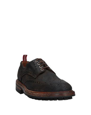 Фото 2 - Обувь на шнурках от GREEN GEORGE темно-коричневого цвета