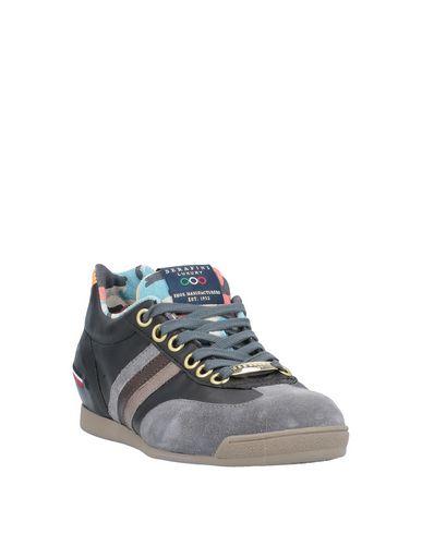 Фото 2 - Низкие кеды и кроссовки от SERAFINI LUXURY свинцово-серого цвета