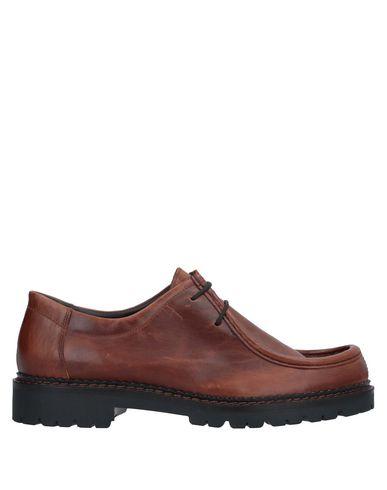 Фото - Обувь на шнурках от MAZE SHOES желто-коричневого цвета
