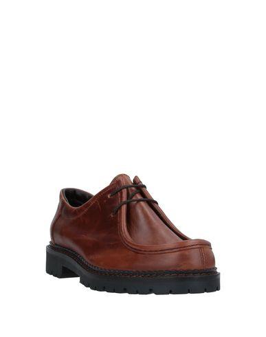 Фото 2 - Обувь на шнурках от MAZE SHOES желто-коричневого цвета