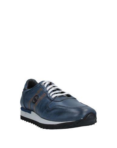 Фото 2 - Низкие кеды и кроссовки от EXTON синего цвета