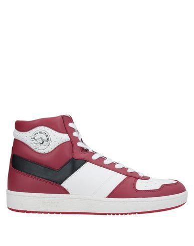 Фото - Высокие кеды и кроссовки красно-коричневого цвета