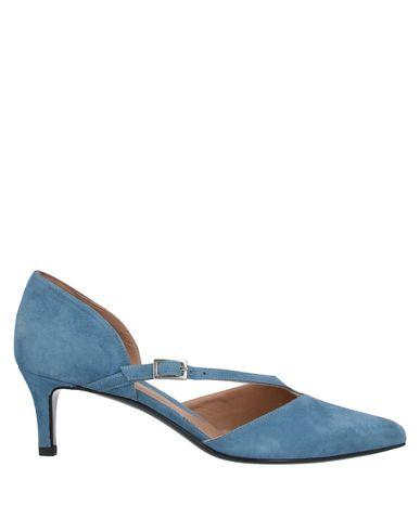 Фото - Женские сандали YOSH пастельно-синего цвета
