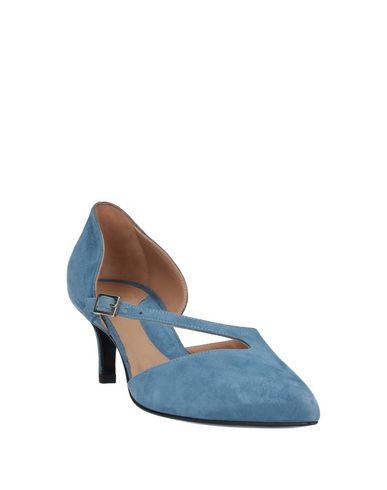 Фото 2 - Женские сандали YOSH пастельно-синего цвета