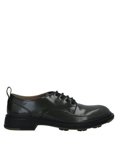Фото - Обувь на шнурках от PEZZOL  1951 цвет зеленый-милитари