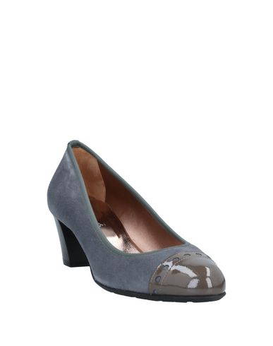 Фото 2 - Женские туфли MASCARÓ серого цвета
