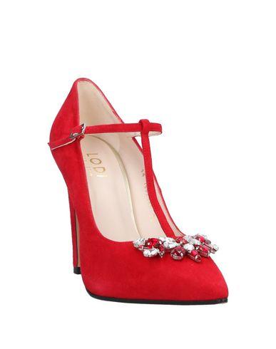 Фото 2 - Женские туфли  красного цвета