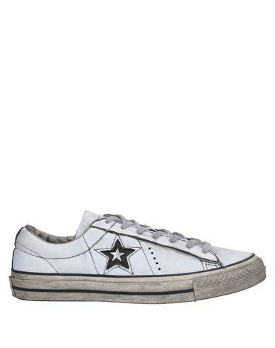 Купить Низкие кеды и кроссовки от CONVERSE ALL STAR белого цвета