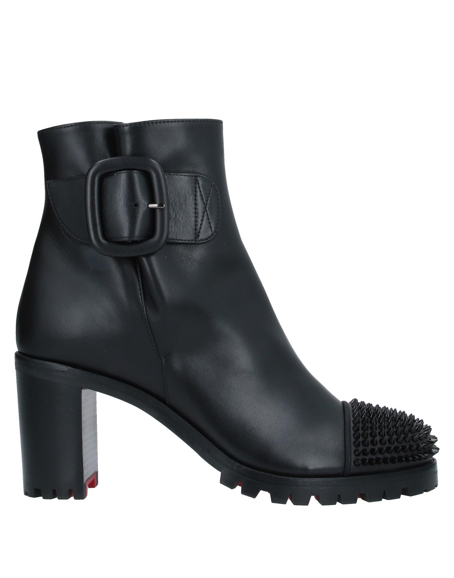 CHRISTIAN LOUBOUTIN Полусапоги и высокие ботинки туфли christian louboutin 10