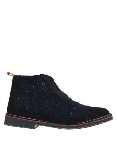 Фото - Полусапоги и высокие ботинки от TONI PONS темно-синего цвета