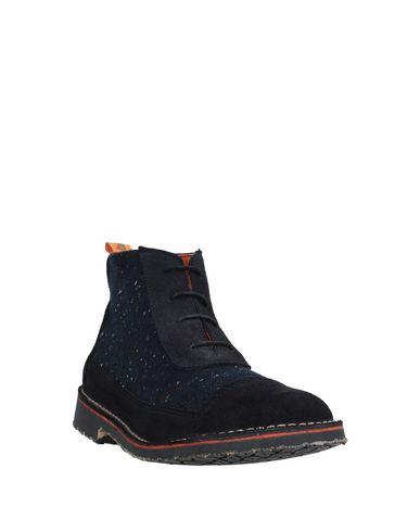 Фото 2 - Полусапоги и высокие ботинки от TONI PONS темно-синего цвета