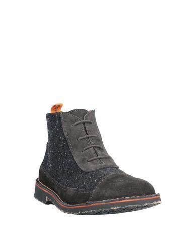 Фото 2 - Полусапоги и высокие ботинки от TONI PONS свинцово-серого цвета