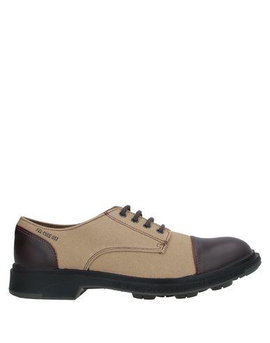 Фото - Обувь на шнурках от PEZZOL  1951 бежевого цвета