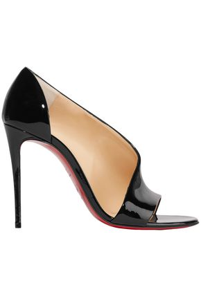 CHRISTIAN LOUBOUTIN Phoebe 100 patent-leather pumps
