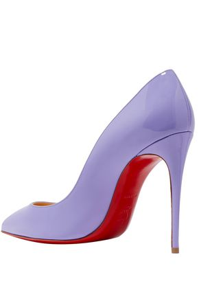 info for a0c8c 3badf Pigalle Follies 100 patent-leather pumps | CHRISTIAN ...