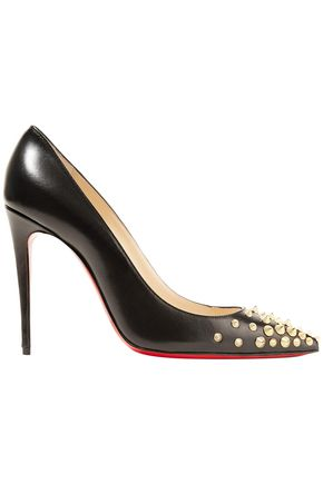 CHRISTIAN LOUBOUTIN Studded leather pumps