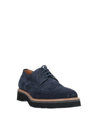 Фото 2 - Обувь на шнурках темно-синего цвета