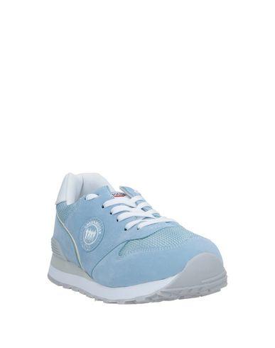 Фото 2 - Низкие кеды и кроссовки от GREENHOUSE POLO CLUB небесно-голубого цвета