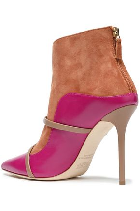 MALONE SOULIERS Madison 100 leather and suede ankle boots