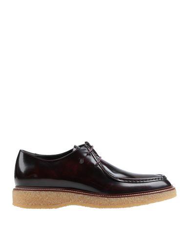 Фото - Обувь на шнурках цвет баклажанный