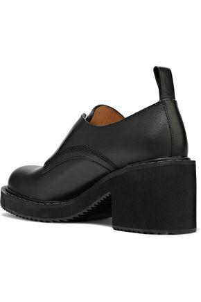 JIL SANDER NAVY Leather brogues