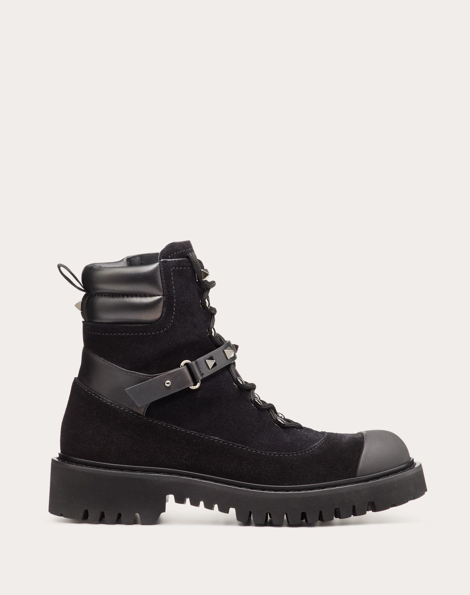 Rockstud Split Leather Boot 15 mm