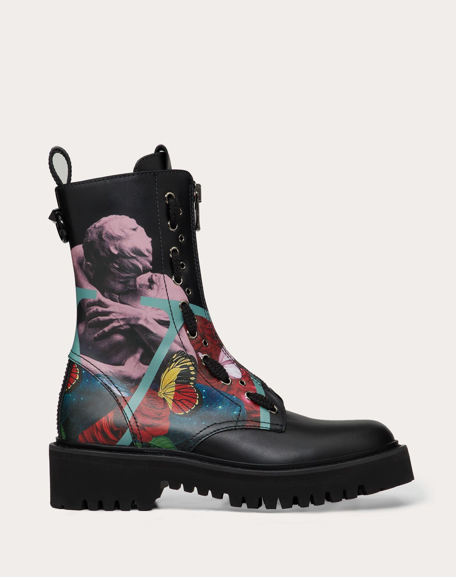 Valentino Garavani Undercover Combat Boot
