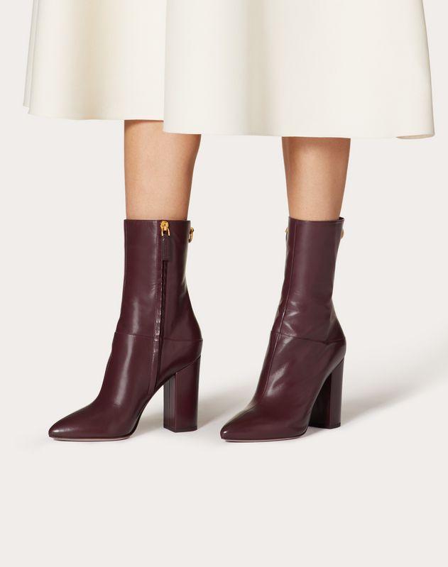 Kidskin Ankle Boot 100 mm