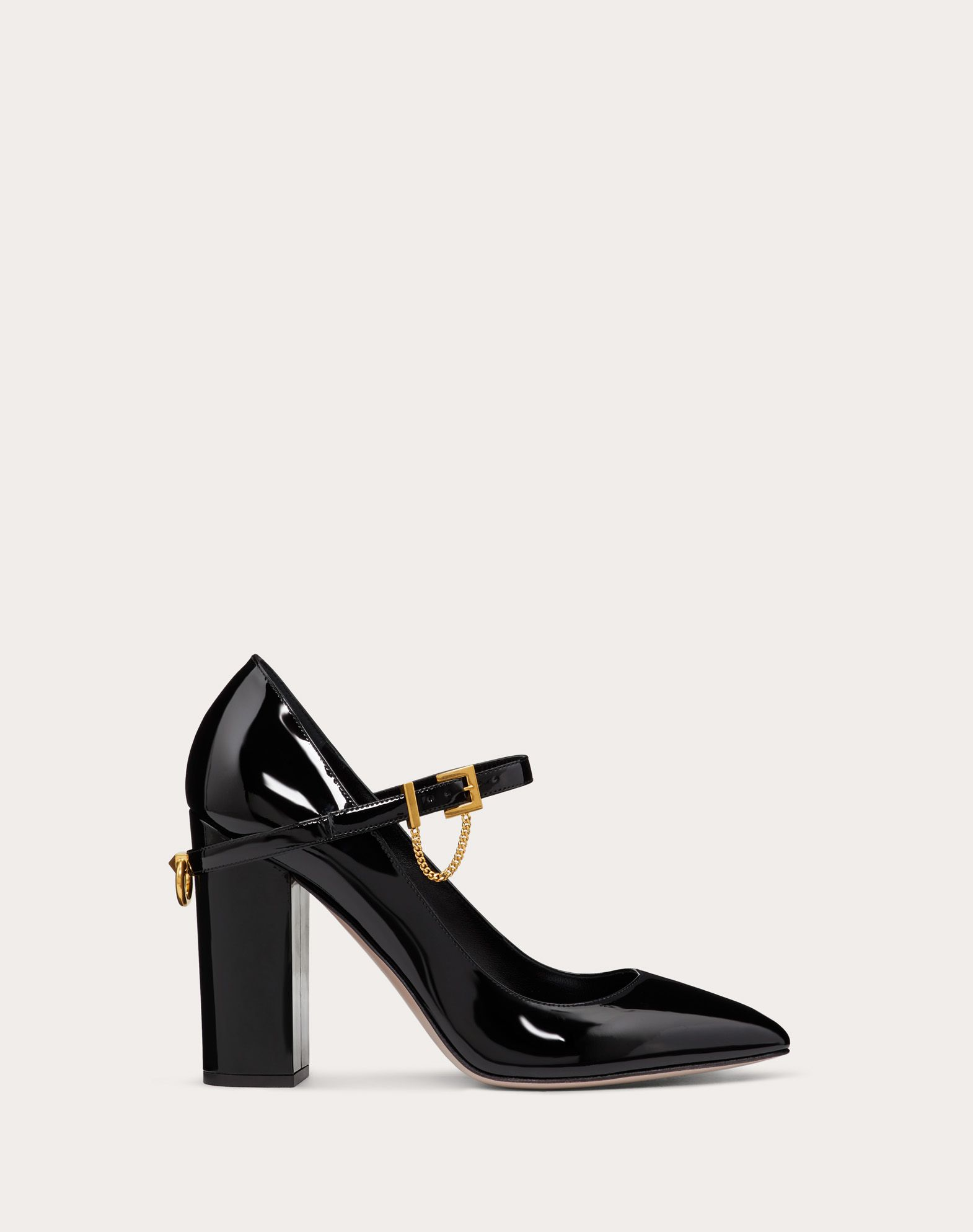 Patent Leather Pump 100 mm