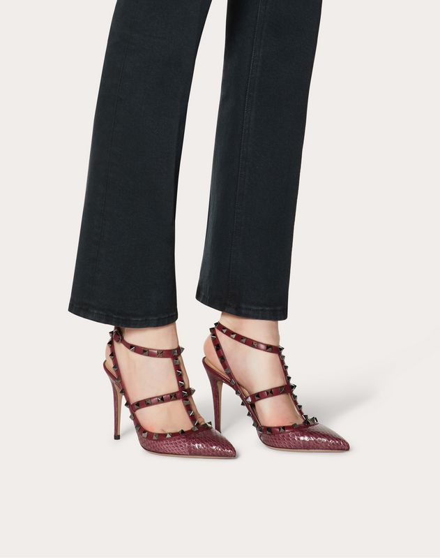 Rockstud Elaphe Pump 100 mm