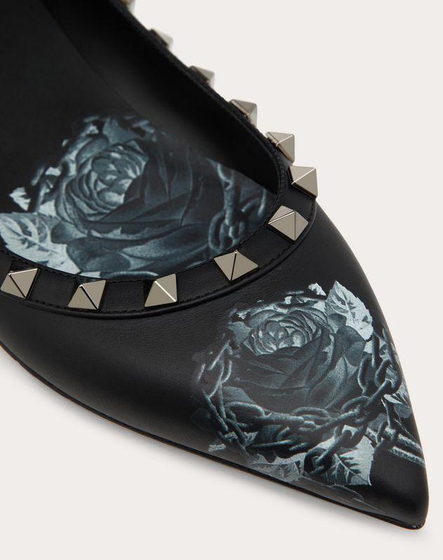 Ballerines Rockstud Valentino Garavani Undercover. Talon : 5 mm