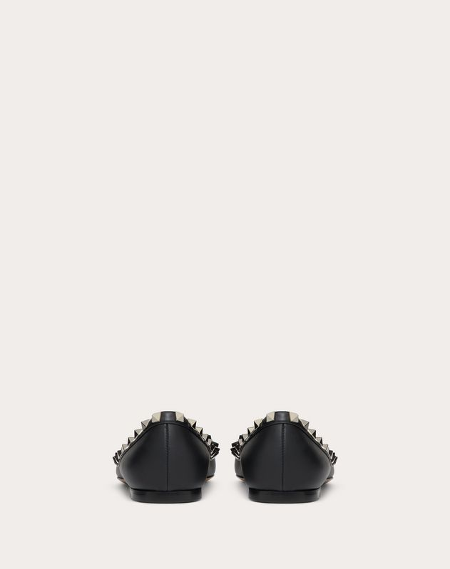Valentino Garavani Undercover Rockstud Ballet Flat 5 mm