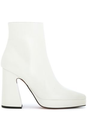 PROENZA SCHOULER Leather platform ankle boots